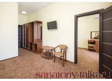 Санаторий «Красная Талка», «Семейный 2-местный 2-комнатный» корп. 4,7