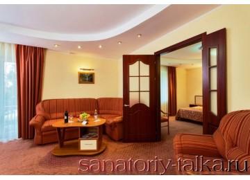 Санаторий «Красная Талка», «VIP 2-местный 2-комнатный» корп.Ривьера