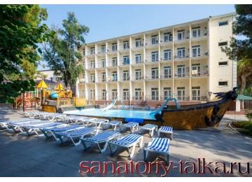 Санаторий «Красная Талка», открытый бассейн для детей