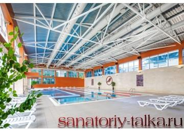 Санаторий «Красная Талка», крытый бассейн
